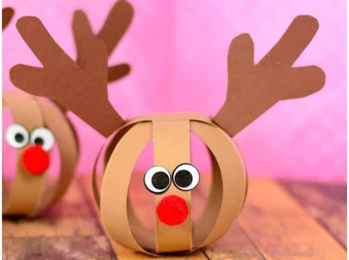 Paperball Reindeer