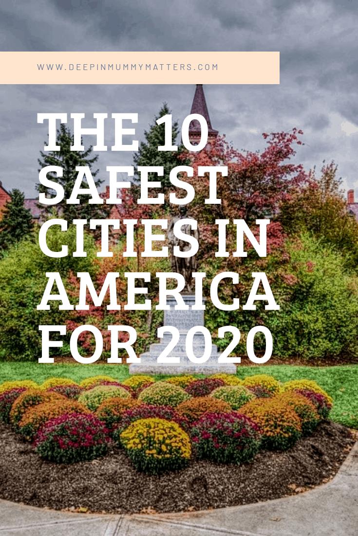 10 safest cities in America