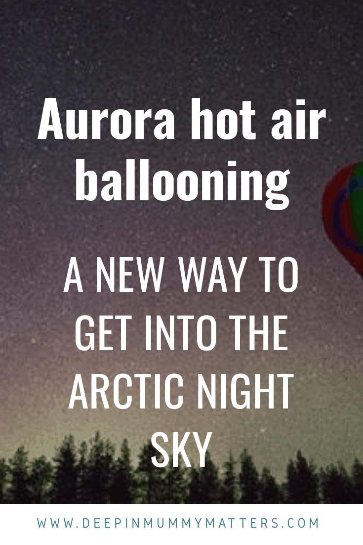 Aurora hot air ballooning