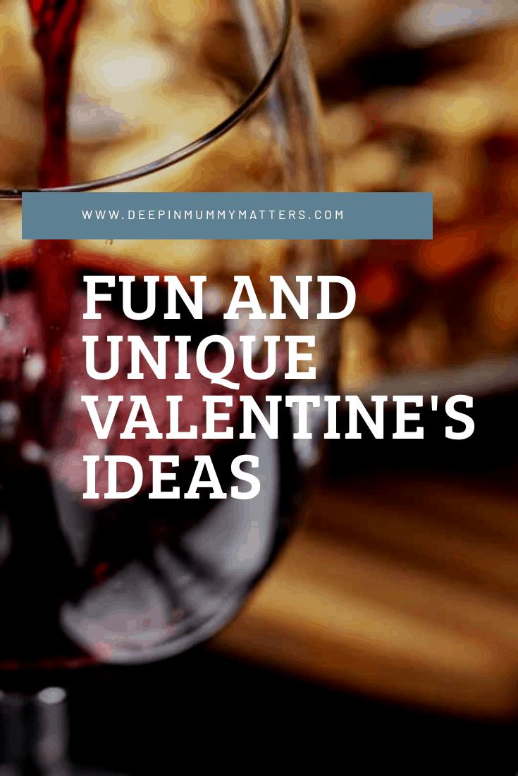 Fun and Unique Valentine's Ideas 1