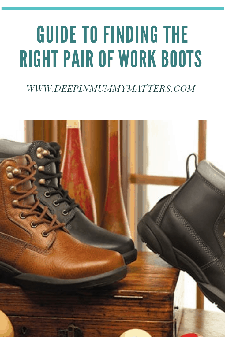 finding the right pair of work boots