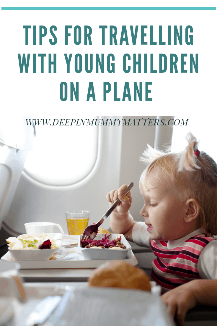 Tips for travelling with young children on a plane