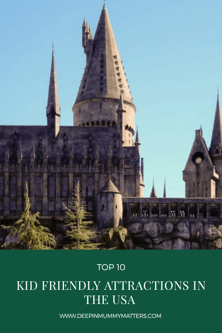 Top 10 kid friendly attractions in the USA