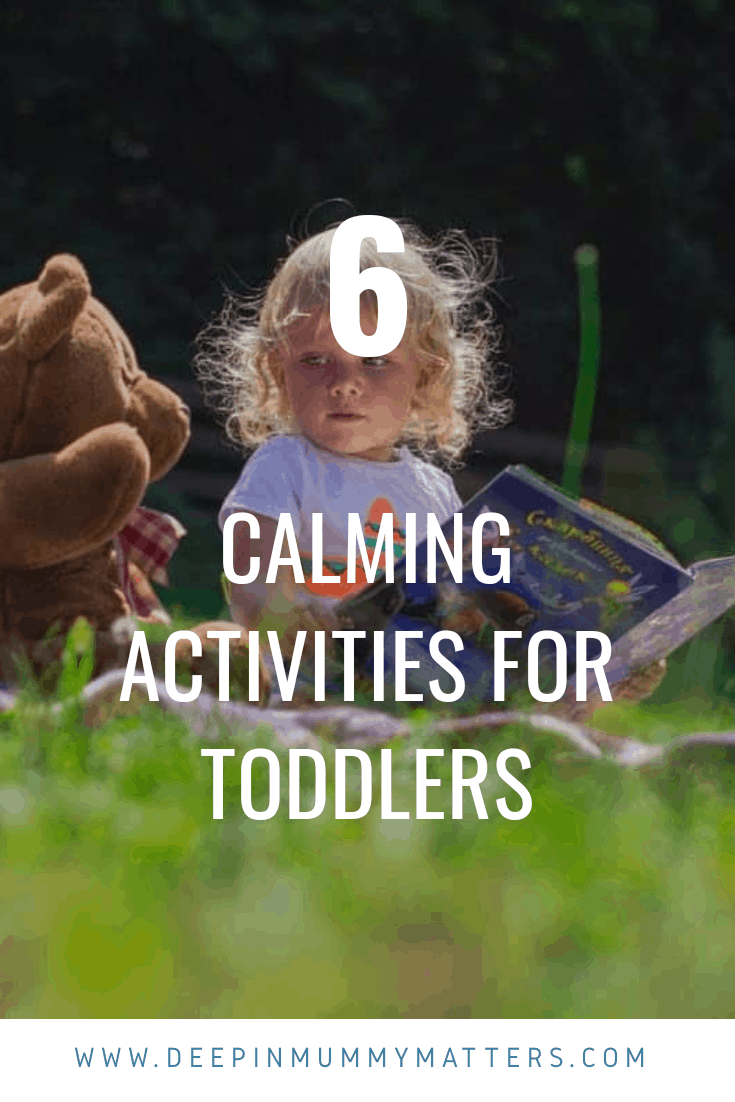 6 calming activities for toddlers