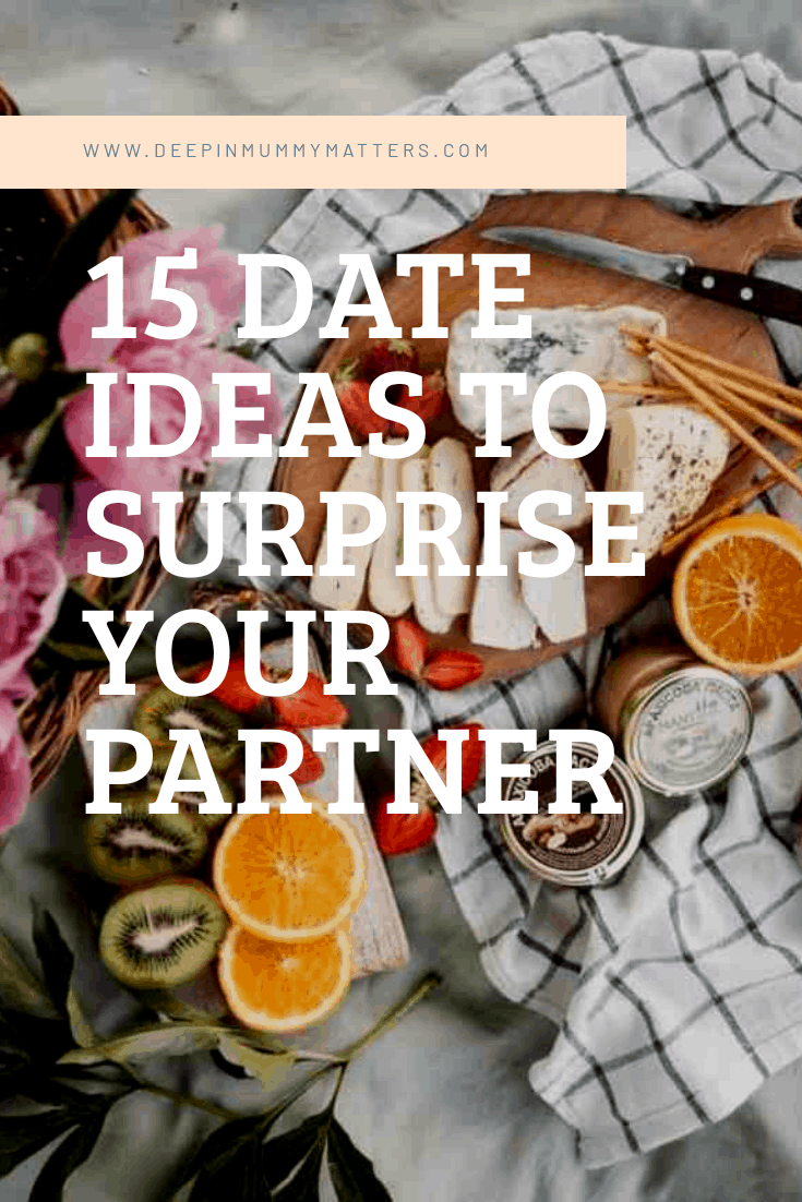 15 date ideas to surprise your partner