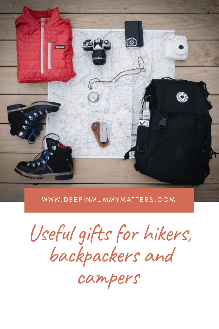 Travelproof: Useful gifts for hikers, backpackers and campers
