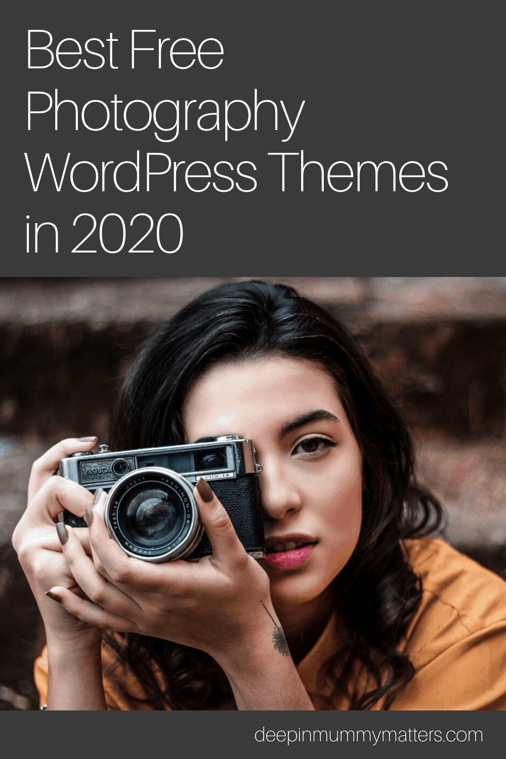 Best Free Photography WordPress Themes in 2020