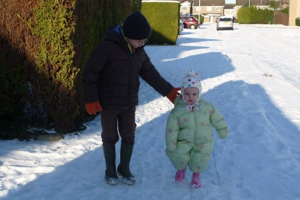 Snow brings out the child in you 2