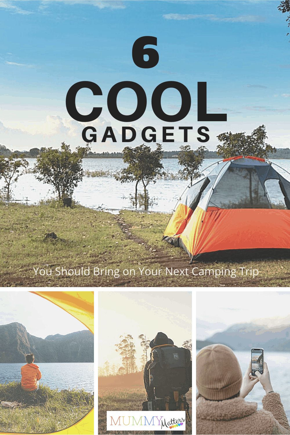 If you're planning your next camping trip you might want to check out our list of 6 cool gadgets you're going to want to pack for your best trip yet.
