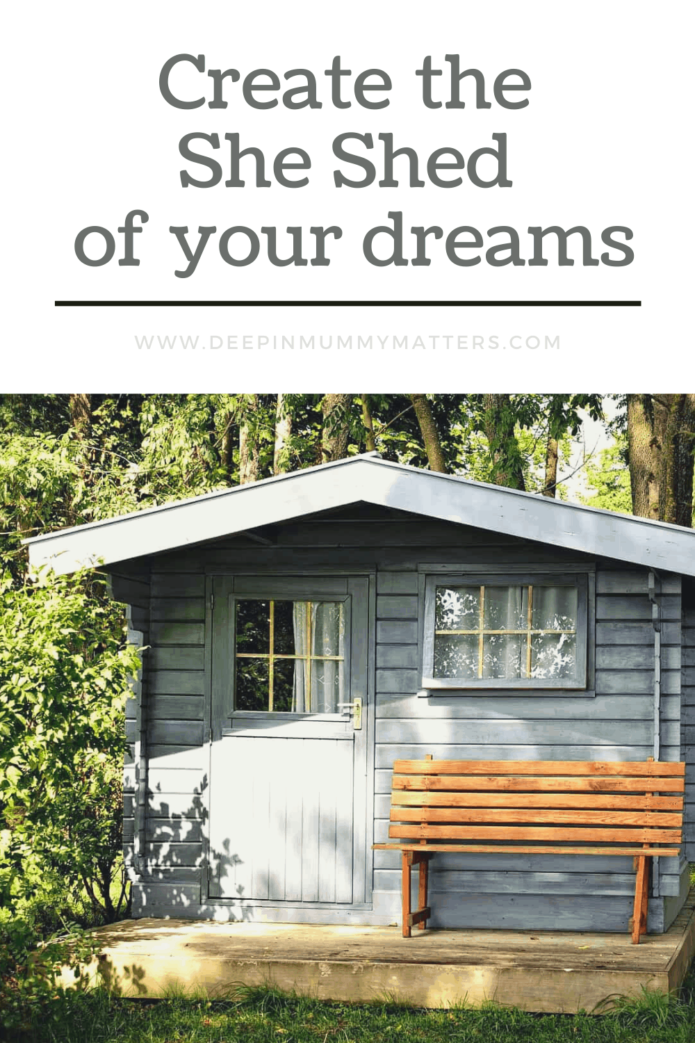 So what exactly is a she shed, and how do you make one into your own personal paradise? Read on to find out how to create your own little hideaway.