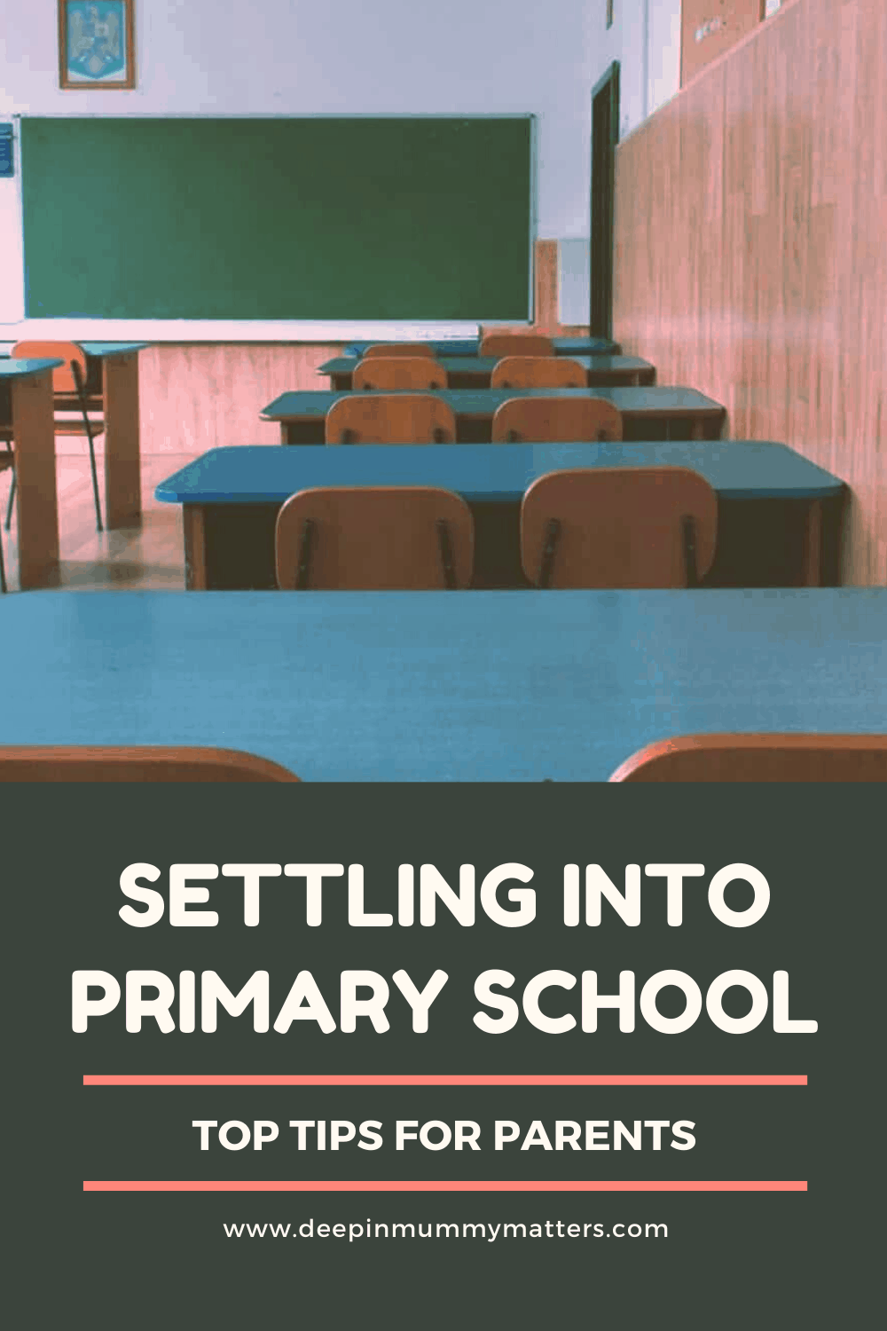 Settling into Primary School