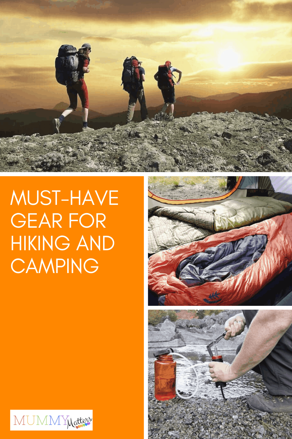 If you're unsure what to take when hiking and camping, this list covers all the must-have gear, from the most obvious essentials to the lesser-known ones.