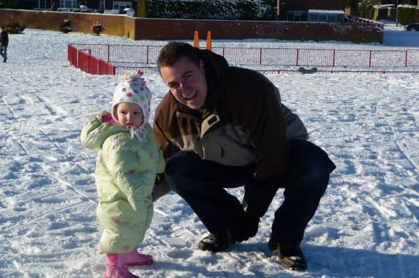 Snow brings out the child in you 1