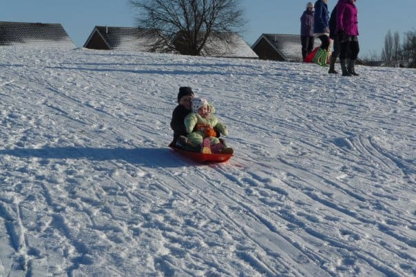 Snow brings out the child in you 3