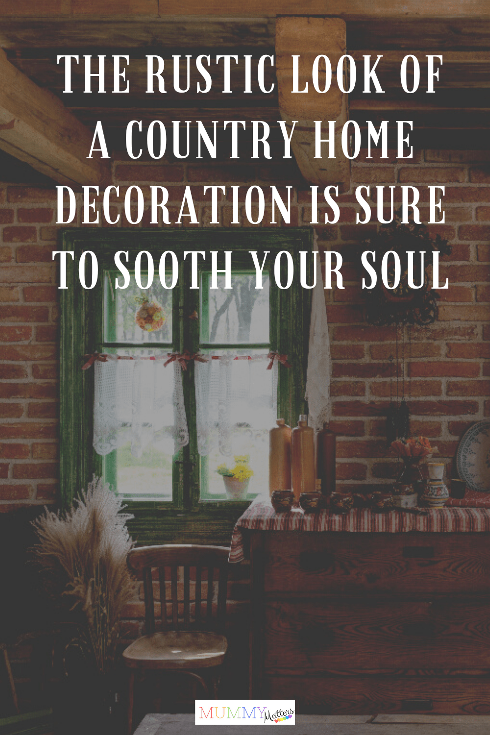 Since the country home decoration style depicts nature and simplicity, some personalities might not like it too much in comparison to the modern bubbly designs.