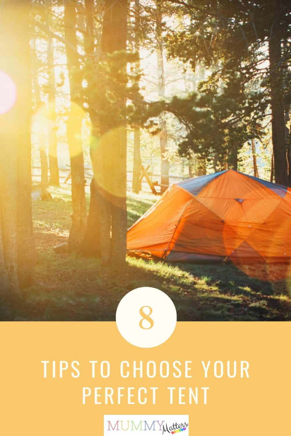 If you have decided to give camping a go then it's time to choose a tent. Finding the correct size can mean the success or failure of a camping trip.