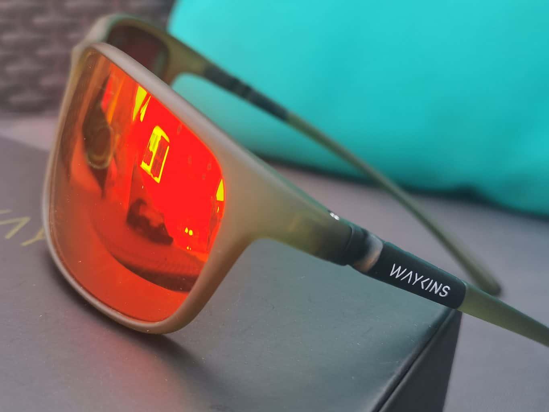 Wayside Green Ombra Sport Sunglasses