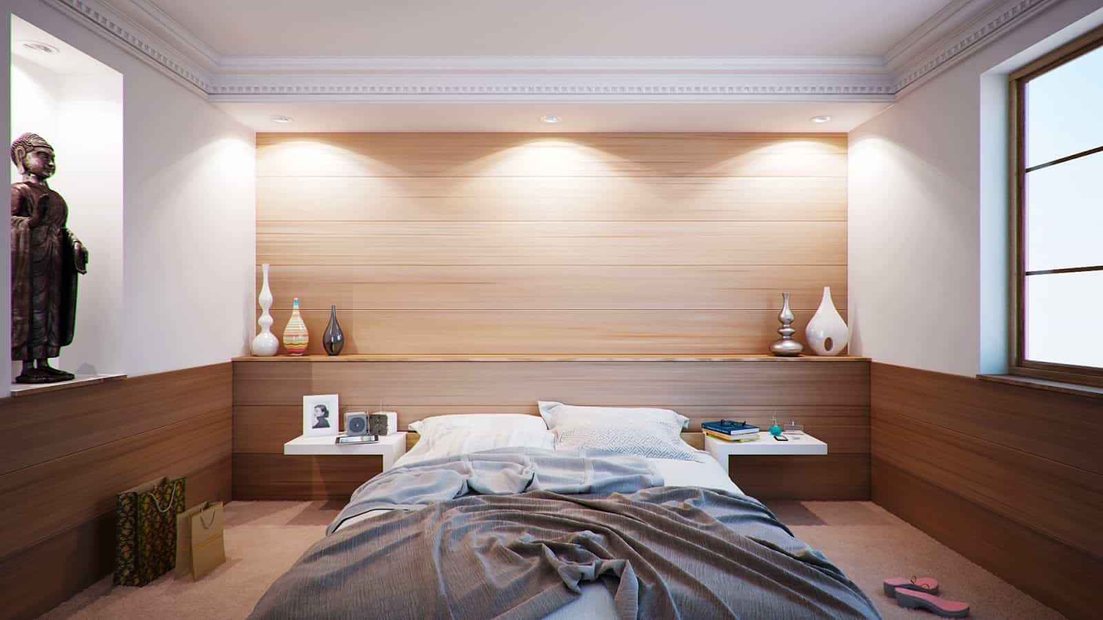 Turn your bedroom into a comfort heaven