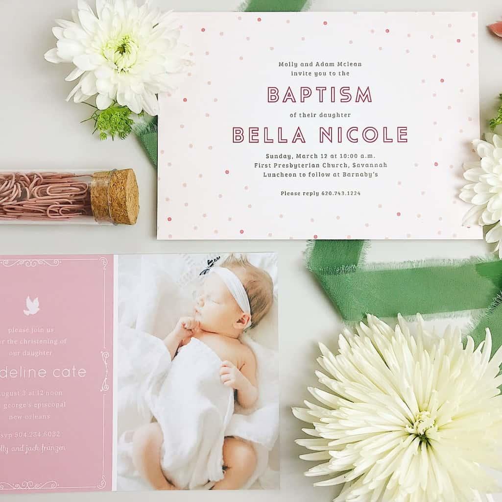 Baptism-celebration