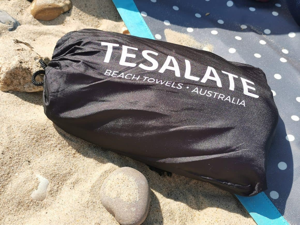Tesalate Beach Towel - Look no sand!! #ad 1