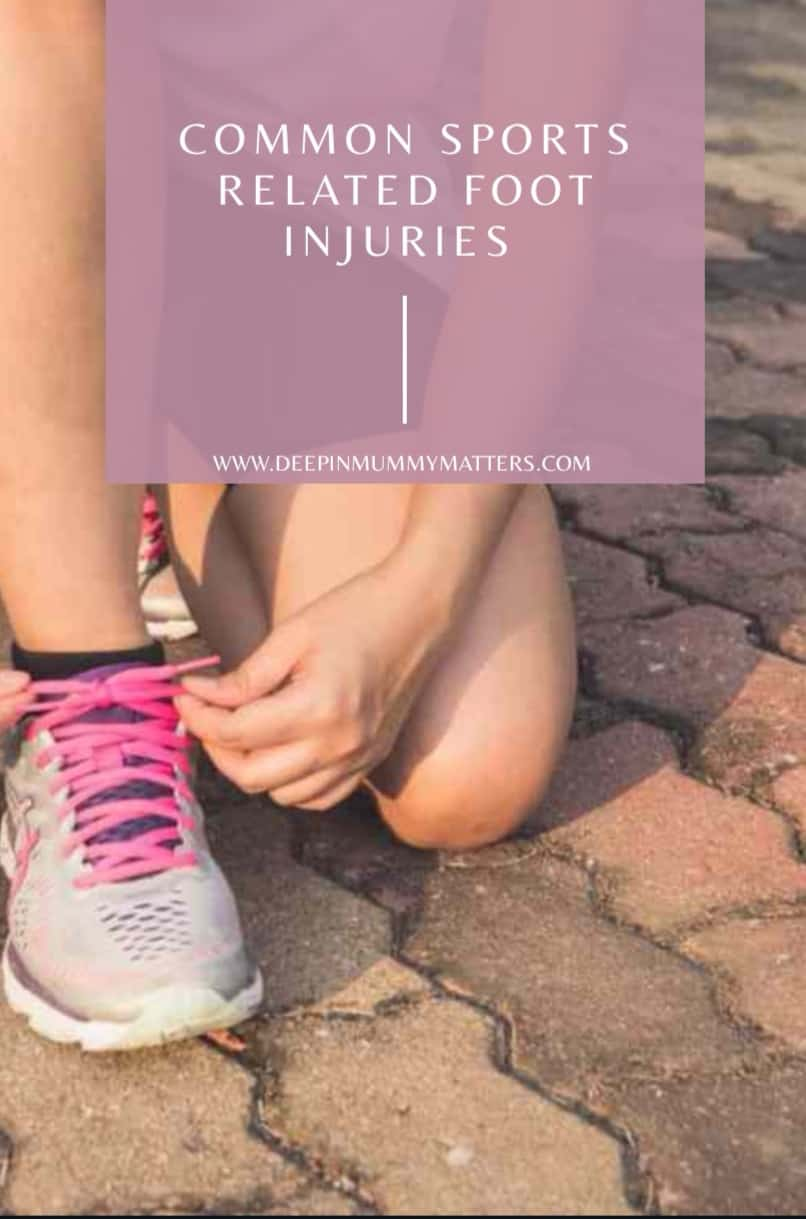 Common sports related foot injuries