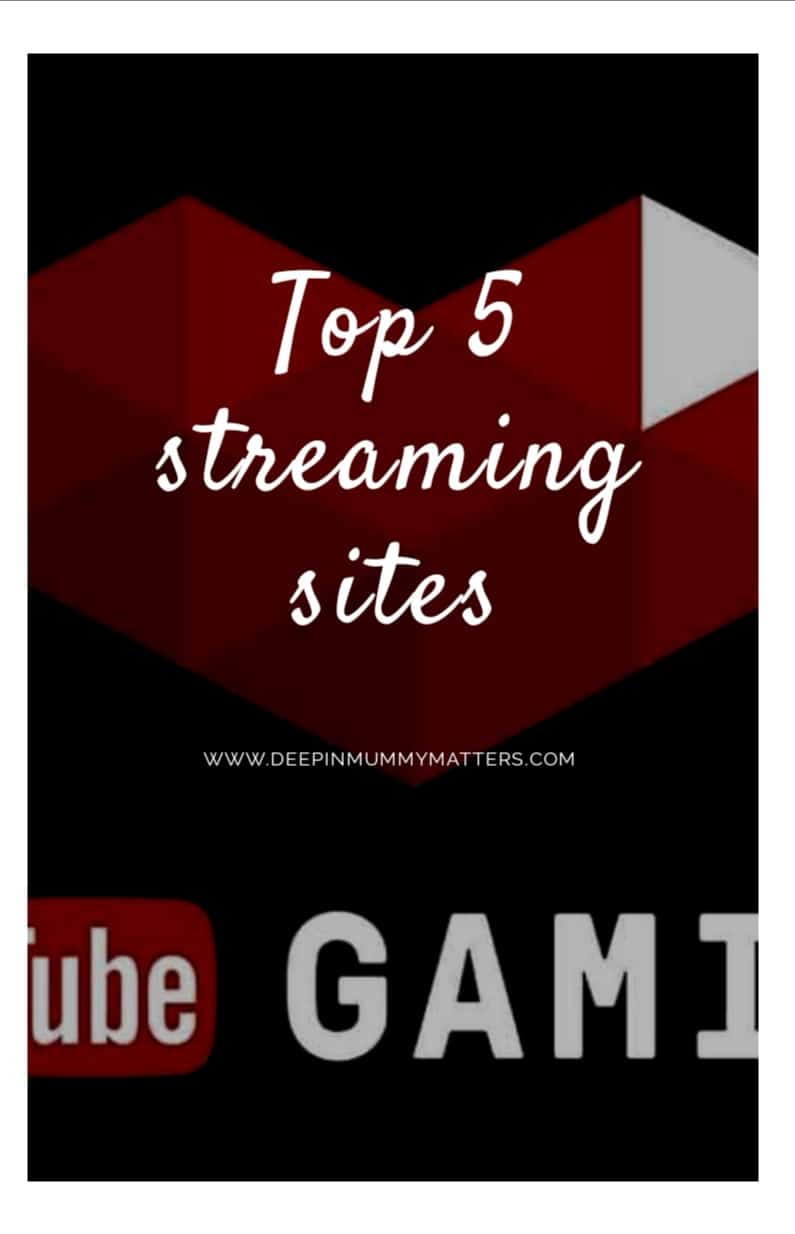 Top 5 streaming sites