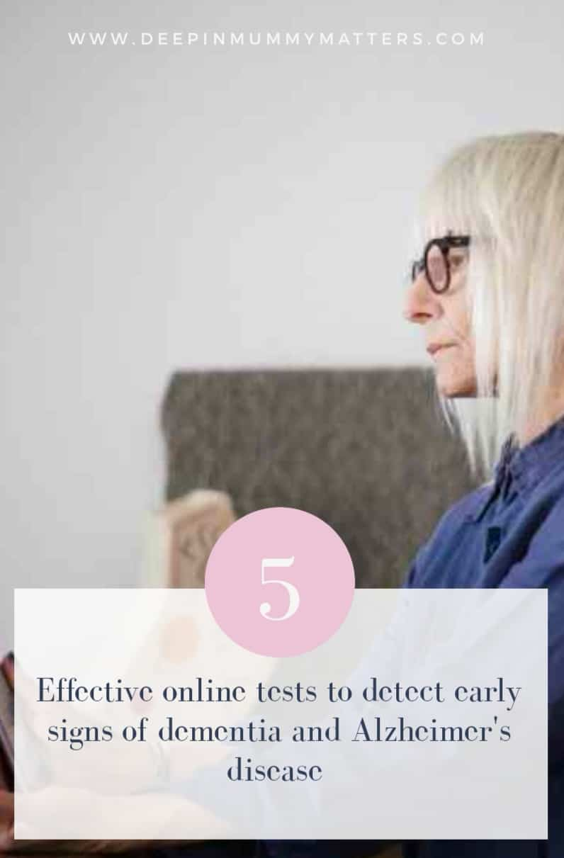 5 effective online tests to detect early signs of dementia and Alzheimer's disease 1