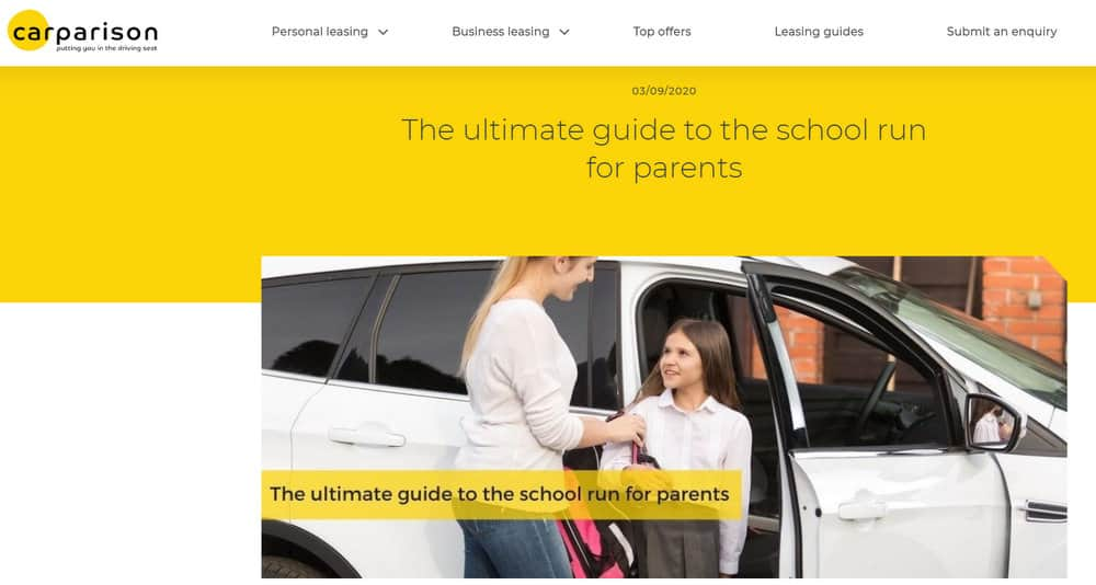 Carparison - The Ultimate Guide to the School Run for Parents