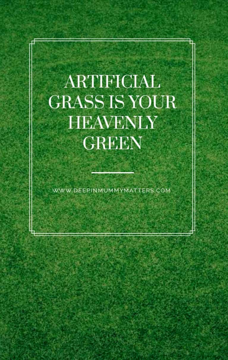 Artificial grass is your heavenly green 1