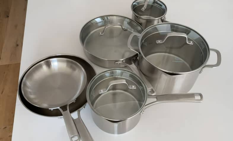 Calphalon or Cuisinart: Which stainless steel cookware brand is better?