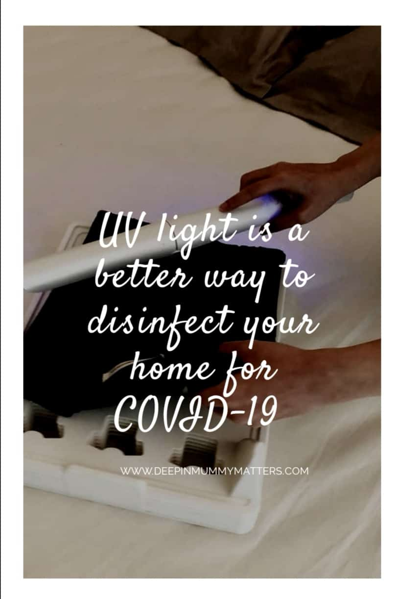 UV Light is a Better Way to Disinfect Your Home of COVID-19 1