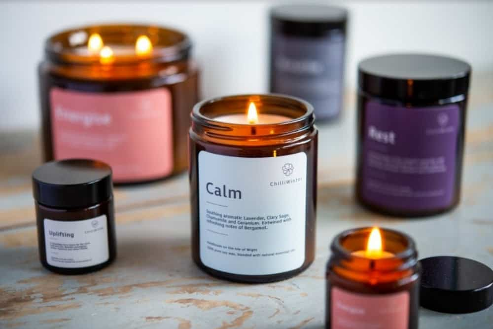 Three Aromatherapy Candles by ChilliWinter