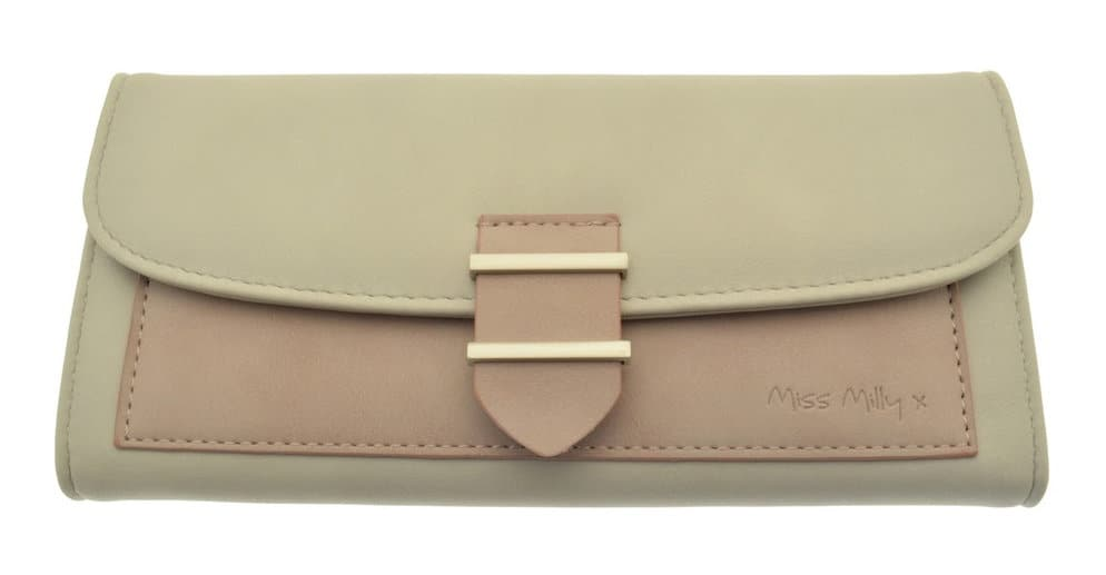 Pink Panel Purse from Miss Milly