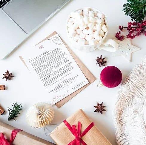 Santa's Secret Letter for older kids in the family
