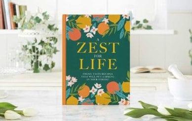 A Zest for Life Cookbook