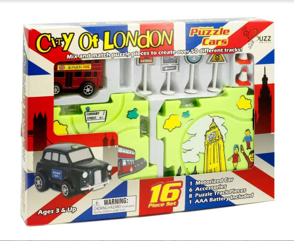 Puzzle Cars London Bus