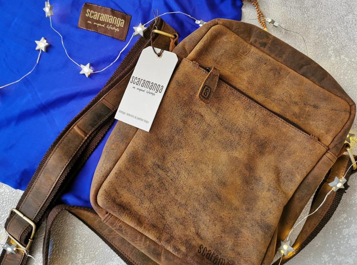Scaramanga Crossbody Leather Bag