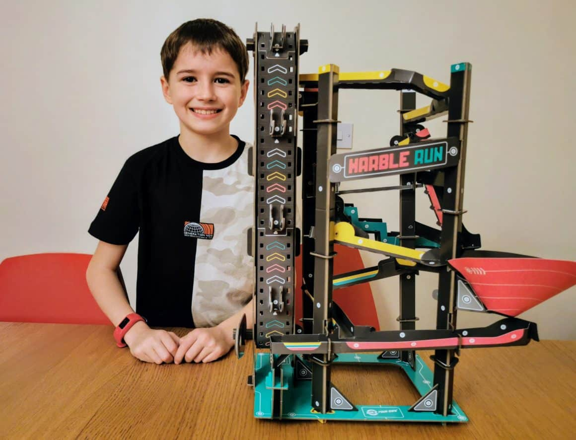 Build Your Own Marble Run Kit Review