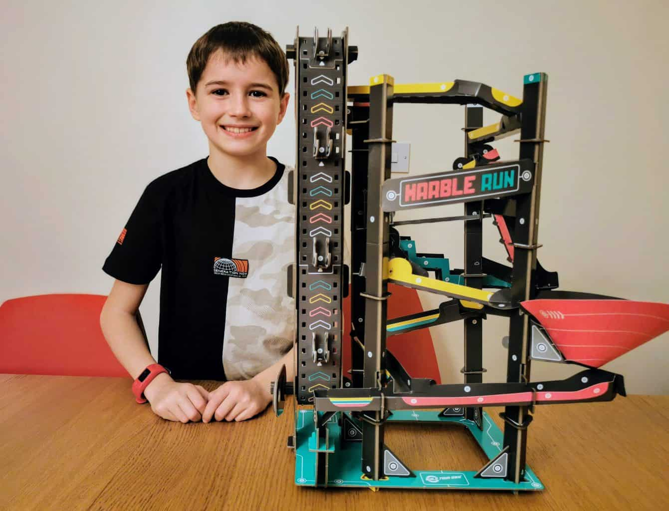 Build Your Own Marble Run Kit