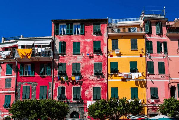 Colorful Cinque Terre Homes