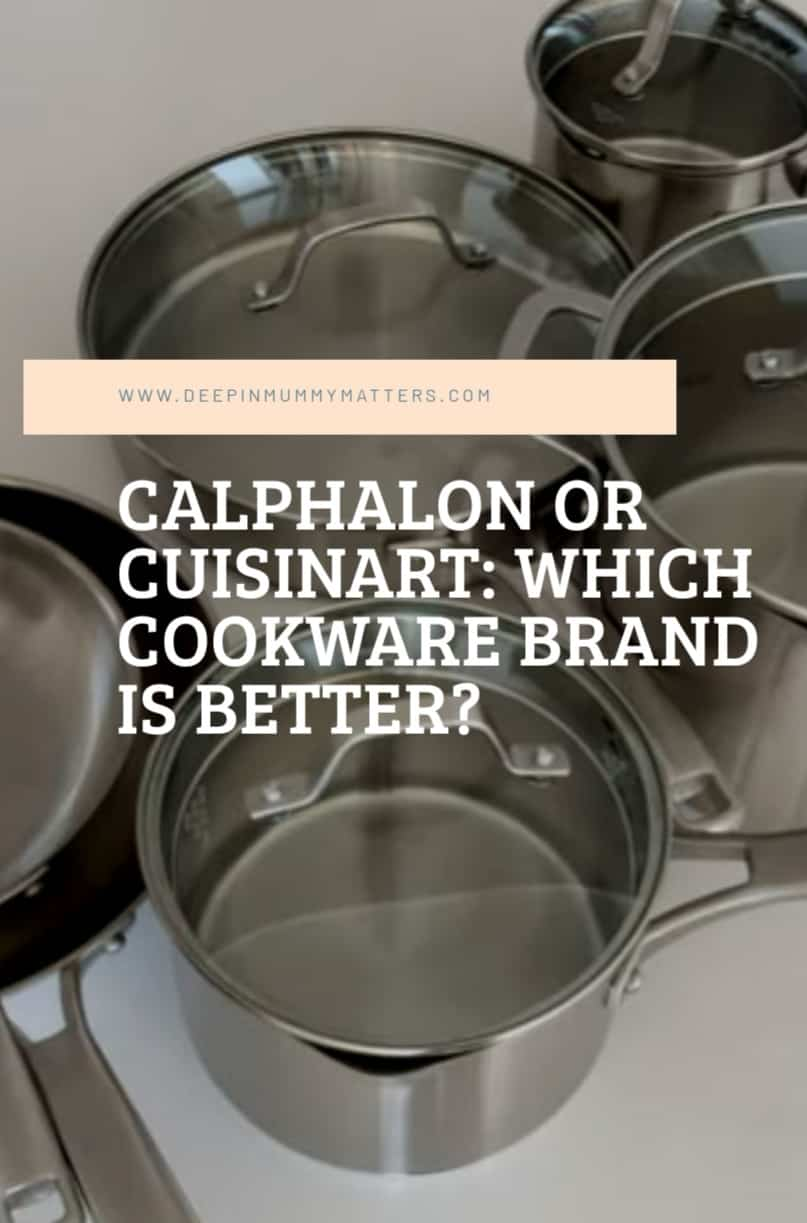 Calphalon or Cuisinart: Which stainless steel cookware brand is better? 1