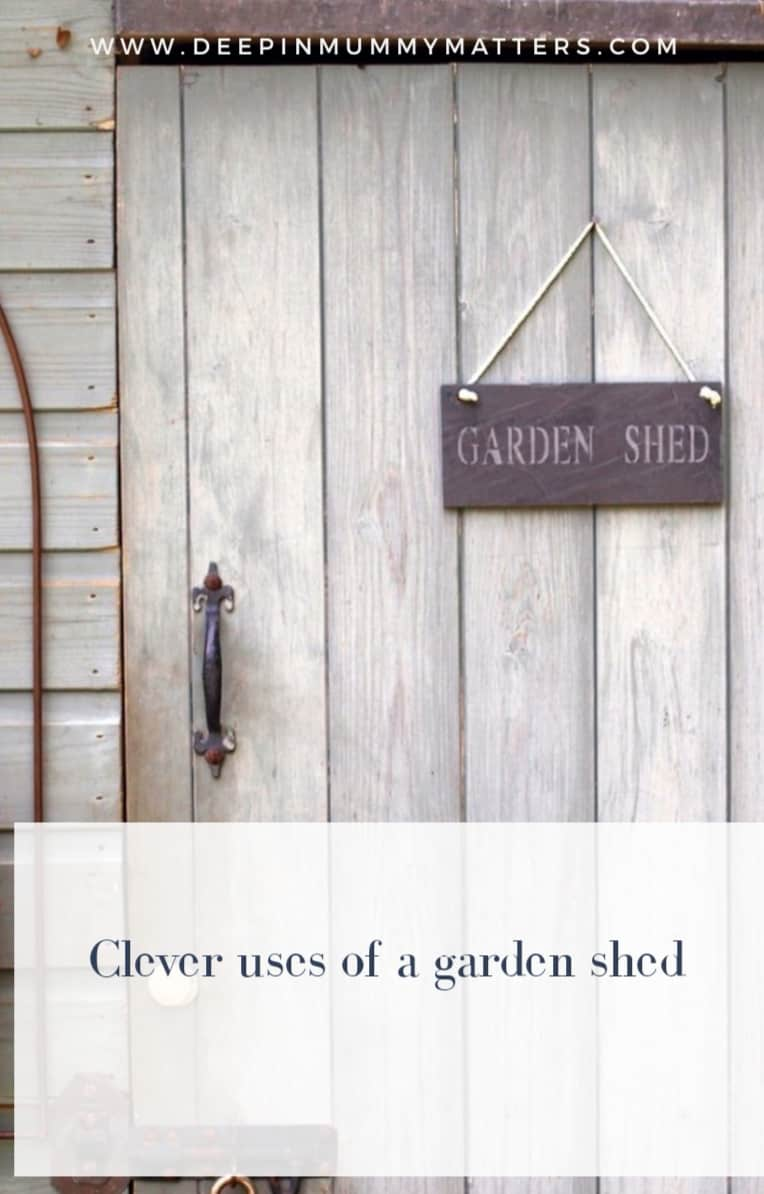 17 Clever Uses of a Garden Shed 1
