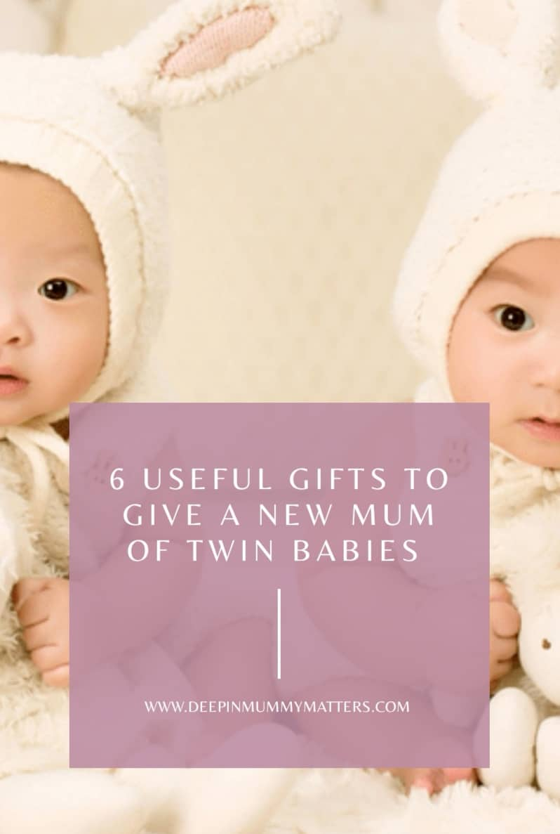 6 Useful Gifts to Give to a New Mum of Twin Babies 1