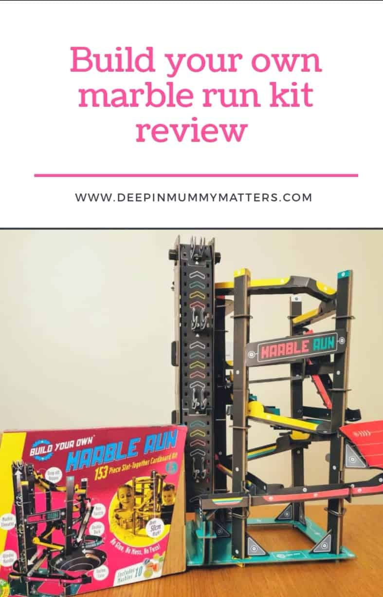 Build Your Own Marble Run Kit Review 3