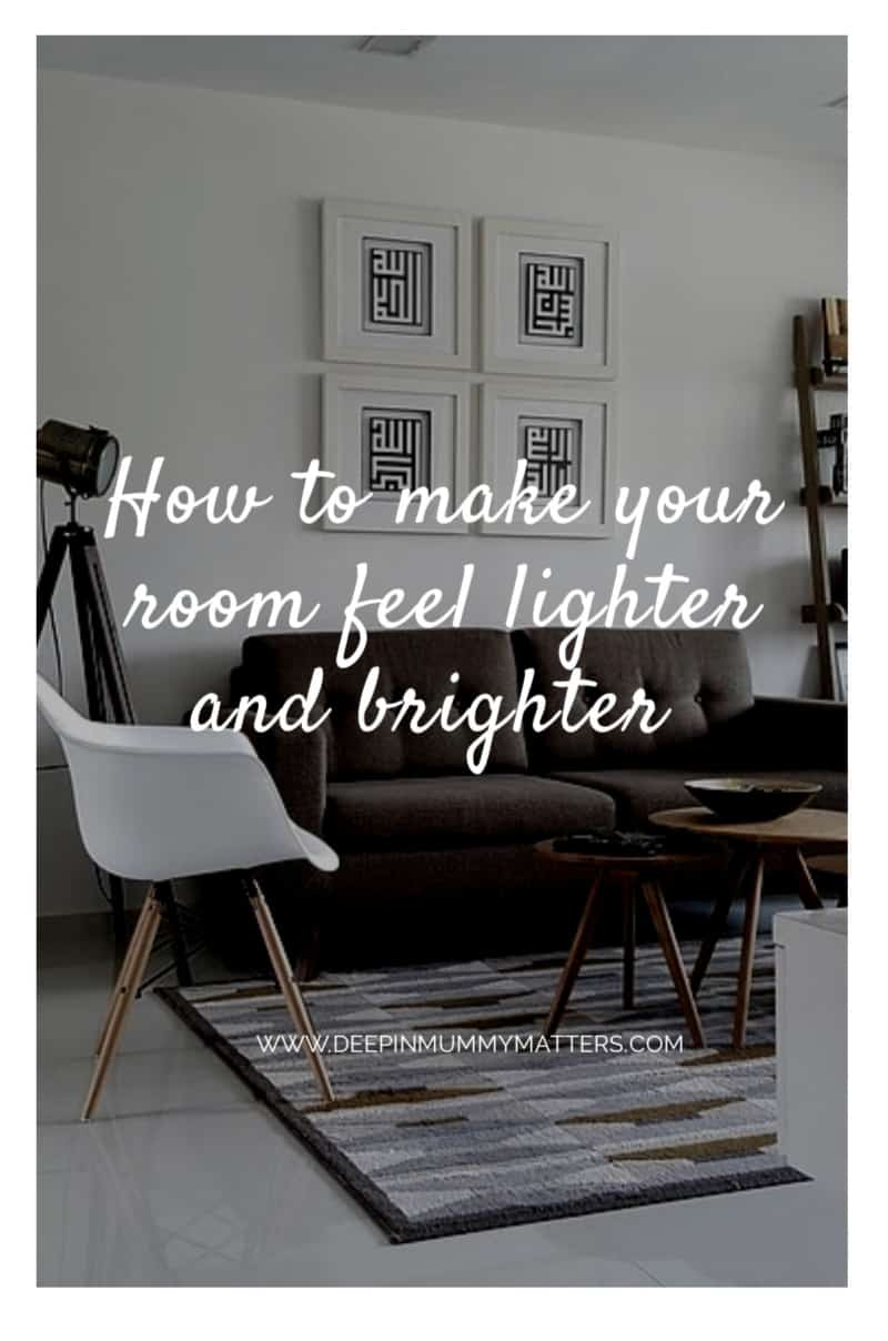 How to Make Your Living Room Feel Lighter & Brighter 2