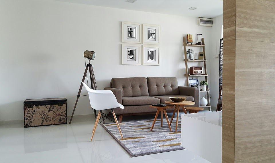 Make your living room feel lighter