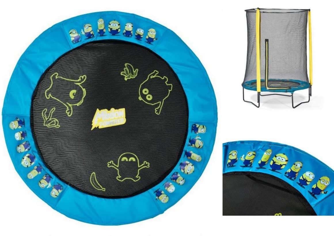 Plum Minions trampoline