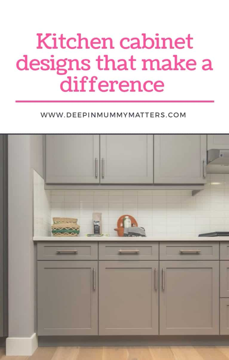 Know Your Kitchen: Kitchen Cabinet Designs That Make a Difference 2