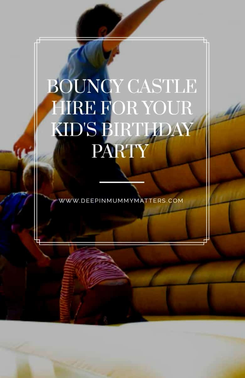 Bouncy Castle Hire for Your Kids Birthday Party 1