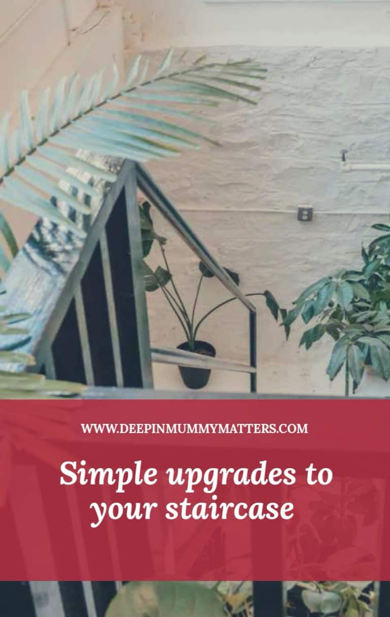 Simple Upgrades To Your StairCase 1